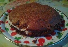 «Нежнейший шоколадный пирог» - приготовления блюда - шаг 6