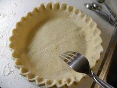 «Киш с беконом, спаржей и сыром» - приготовления блюда - шаг 6