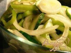 «Салат из огурцов» - приготовления блюда - шаг 6