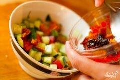 """«Салат """"Рыжая красавица""""» - приготовления блюда - шаг 2"""