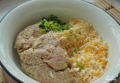 «Котлеты из индейки с сыром» - приготовления блюда - шаг 3