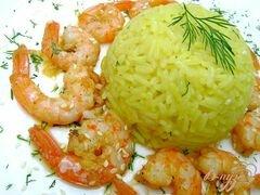 «Креветки, обжаренные в оливковом масле с чесноком» - приготовления блюда - шаг 4