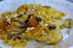 «Куриный плов в духовке» - приготовления блюда - шаг 5