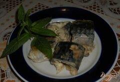 «Скумбрия с желе» - приготовления блюда - шаг 10
