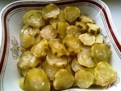«Картофельный салат» - приготовления блюда - шаг 6