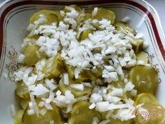 «Картофельный салат» - приготовления блюда - шаг 7