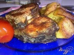 «Жареный карп в панировке.» - приготовления блюда - шаг 7