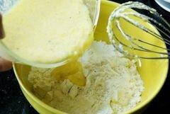 «Маффины с горошком и ветчиной» - приготовления блюда - шаг 9