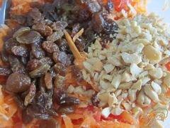 «Салат из сладкого картофеля Батат» - приготовления блюда - шаг 5