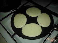 «Американские панкейки.» - приготовления блюда - шаг 3