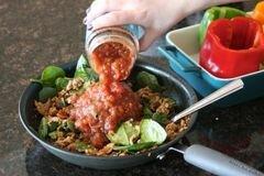 «Фаршированный перец по-мексикански» - приготовления блюда - шаг 4
