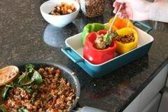 «Фаршированный перец по-мексикански» - приготовления блюда - шаг 5
