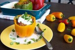 «Фаршированный перец по-мексикански» - приготовления блюда - шаг 7