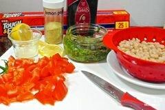 «Палтус с овощами в духовке» - приготовления блюда - шаг 1