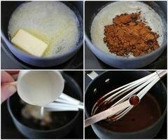 «Брауни с ореховым маслом, зефиром и шоколадными чипсами» - приготовления блюда - шаг 13