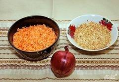 «Суп из красной чечевицы» - приготовления блюда - шаг 1