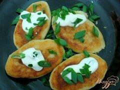 «Картофельные зразы с шампиньонами» - приготовления блюда - шаг 6