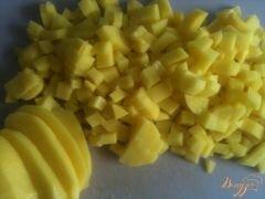 «Картофельная лепешка с сыром» - приготовления блюда - шаг 1