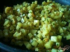 «Картофельная лепешка с сыром» - приготовления блюда - шаг 2