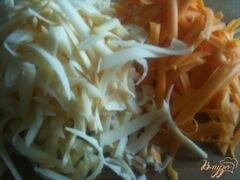 «Картофельная лепешка с сыром» - приготовления блюда - шаг 4