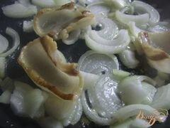 «Яичница с луком и салом» - приготовления блюда - шаг 2