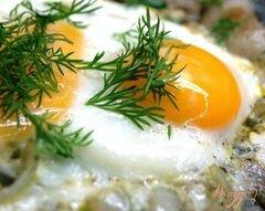 «Яичница с луком и салом» - приготовления блюда - шаг 5