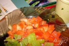 «Сочные медальоны из курины (индейки) с ананасом» - приготовления блюда - шаг 3