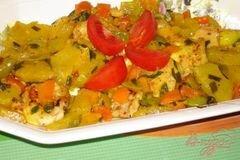 «Сочные медальоны из курины (индейки) с ананасом» - приготовления блюда - шаг 6