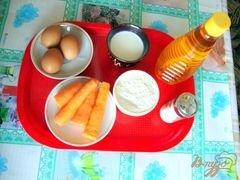 «Морковь в тесте» - приготовления блюда - шаг 1