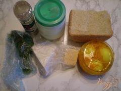 «Канапе с двумя видами сыра и маринованными яйцами» - приготовления блюда - шаг 1