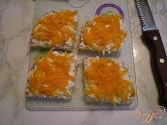 «Канапе с двумя видами сыра и маринованными яйцами» - приготовления блюда - шаг 5