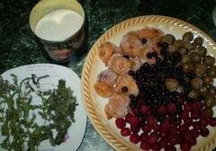 «Компот фруктовый с мелиссой и мятой» - приготовления блюда - шаг 1