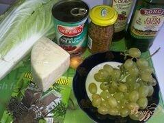 «Салат из красной фасоли и винограда» - приготовления блюда - шаг 1