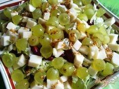 «Салат из красной фасоли и винограда» - приготовления блюда - шаг 8