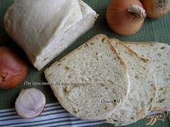 «Хлеб с жареным луком» - приготовления блюда - шаг 5