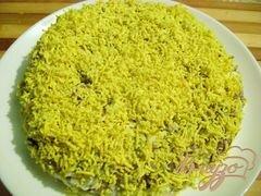 «Салат с печенью и фасолью» - приготовления блюда - шаг 4