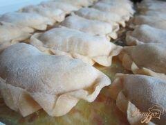 «Вареники с картофелем и маслинами» - приготовления блюда - шаг 6