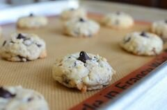«Миндальное печенье с шоколадом» - приготовления блюда - шаг 9