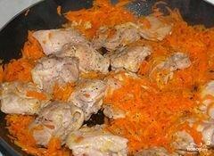 «Курица с морковью» - приготовления блюда - шаг 3