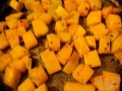 «Салат из тыквы с моцареллой» - приготовления блюда - шаг 1