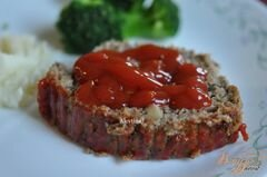 «Мясной хлеб с индюшатиной и грибами» - приготовления блюда - шаг 6