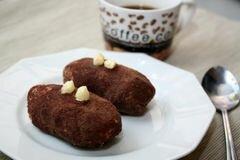 «Пирожное картошка» - приготовления блюда - шаг 8