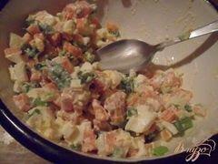 """«Салат """"Селяночка!» - приготовления блюда - шаг 4"""