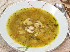 «Суп гречневый с грибами» - приготовления блюда - шаг 6