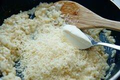 «Ризотто с грушей и сыром горгонзолой» - приготовления блюда - шаг 5