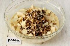 «Медовый пирог с орехами и яблоками» - приготовления блюда - шаг 10