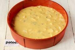 «Медовый пирог с орехами и яблоками» - приготовления блюда - шаг 12
