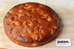 «Медовый пирог с орехами и яблоками» - приготовления блюда - шаг 13