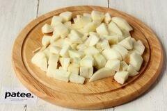 «Медовый пирог с орехами и яблоками» - приготовления блюда - шаг 6