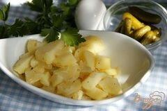 «Классический немецкий картофельный салат» - приготовления блюда - шаг 9